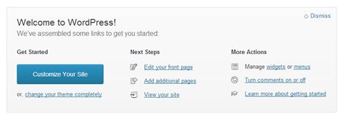 WordPress Starter Links